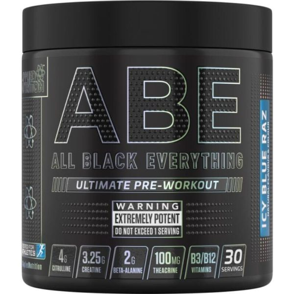 ABE (All Black Everything), 30 servings Icy Blue Raz