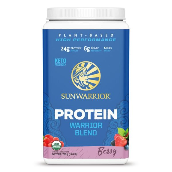 Sunwarrior Protein Warrior Blend (750 gram) Berry