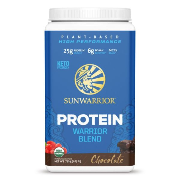 Sunwarrior Protein Warrior Blend (750 gram) Choco