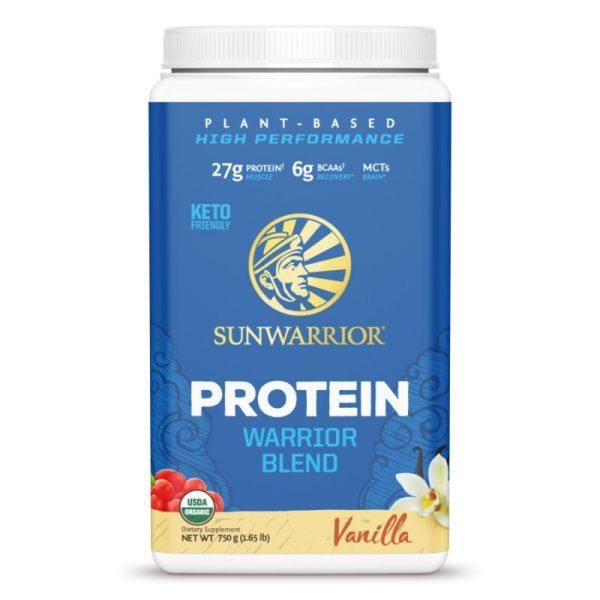 Sunwarrior Protein Warrior Blend (750 gram) Vanille