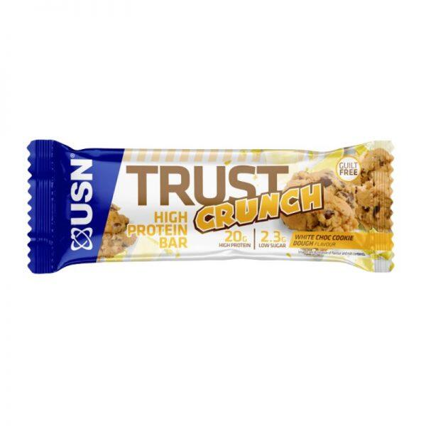 Trust Crunch, 12 x 60 gram White Choc. Cookie Dough