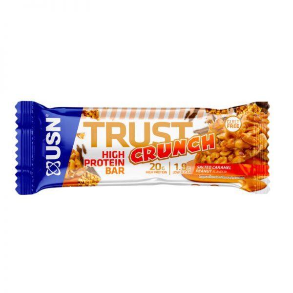 Trust Crunch, 12 x 60 gram Salted Caramel