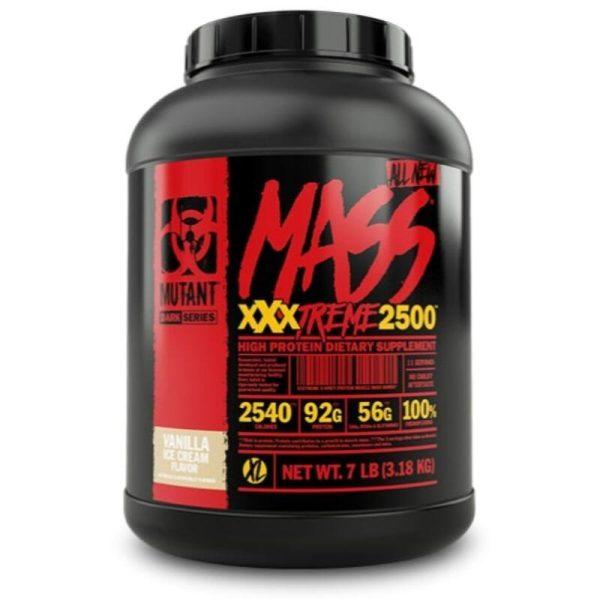 Mutant MASS XXXTREME 2500, 3180 Gram Vanilla Ice Cream