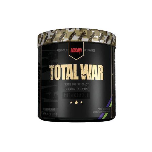 Total War 30 servings Sour Gummy Bear