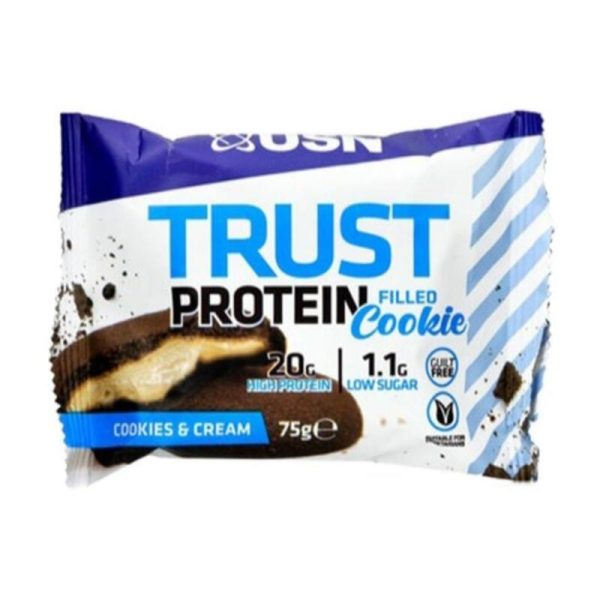 Trust Filled Protein Cookie, 12x75 gram Cookies & Cream