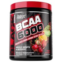 BCAA 6000, 255 gram Fruit Punch