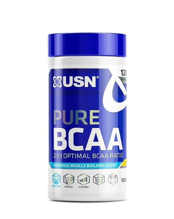 Pure BCAA, 120 caps