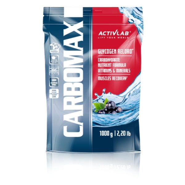 CarboMax Energy Power Dynamic (1000g) Black Currant