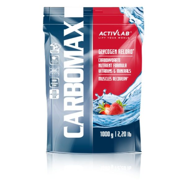 CarboMax Energy Power Dynamic (1000g) Strawberry