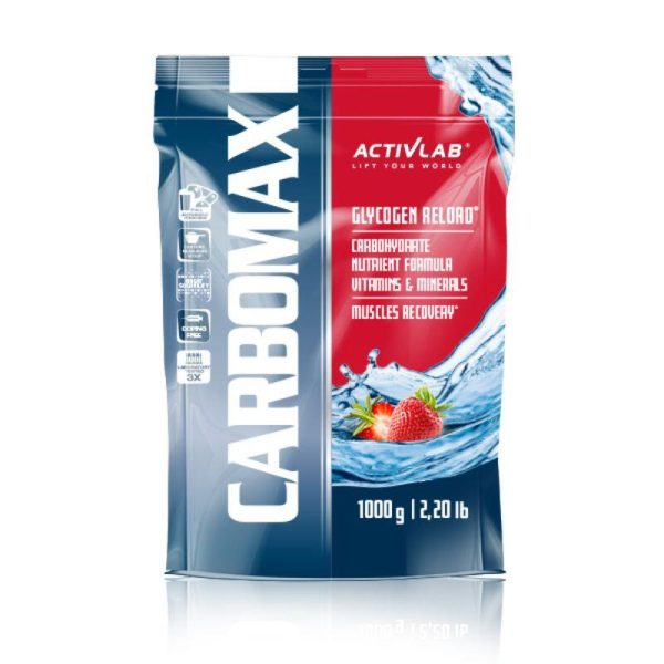 CarboMax Energy Power Dynamic, 1000 gr Strawberry