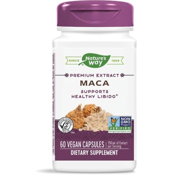 MACA Standardized Extract, 60 Vcaps