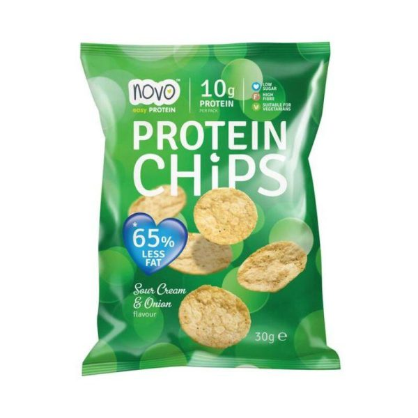 Protein Chips, Sour Cream & Onion 30g bag