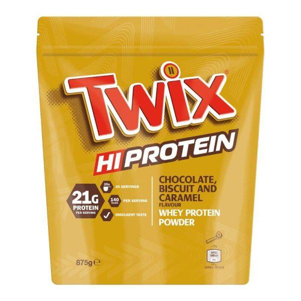 Twix Hi-Protein, 875 gram Chocolate Caramel Biscuit