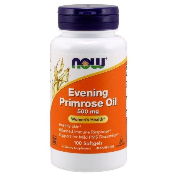 Evening Primrose Oil 500, 100 softgels