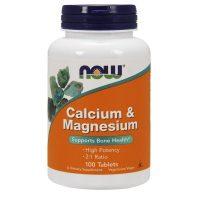 Calcium & Magnesium 100 tabs