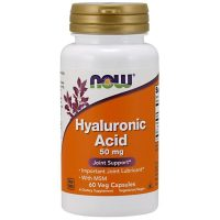 Hyaluronic Acid 50mg, 60 Vcaps