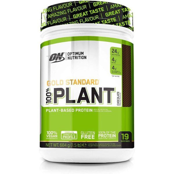 Gold Standard 100% Plant, 684 gram Chocolate