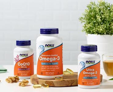 Noow Foods Omega-3, CoQ10
