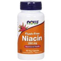 Flush-Free Niacin 250 mg, 90 Veg Capsules