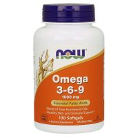 Omega 3-6-9 1000mg, 100 softgels
