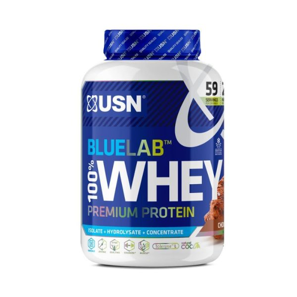 BlueLab Whey, 2kg Chocolate