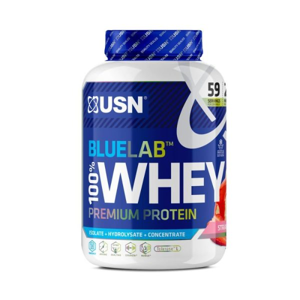 BlueLab Whey, 2kg Strawberry