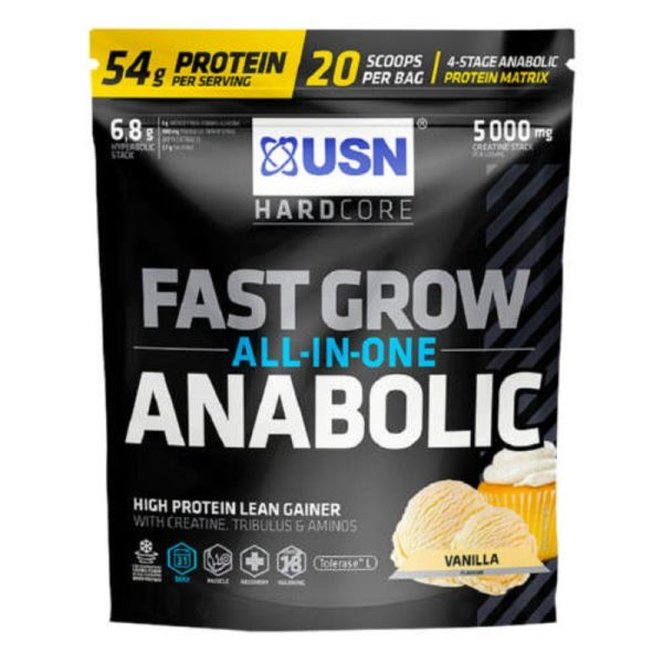 Fast Grow Anabolic, 1kg Vanille