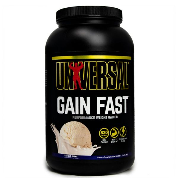 Gain Fast (2.3kg) Vanille Shake