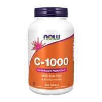 Vitamin C-1000 with Rose Hips (250 tabs)