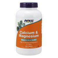 Calcium & Magnesium (250 tabs)