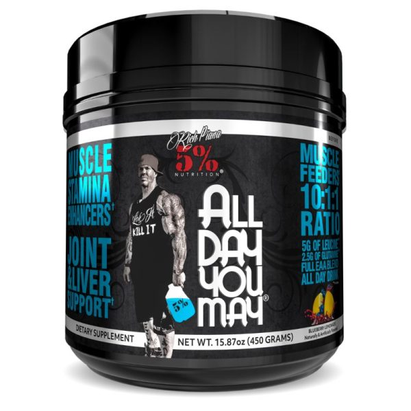 All Day You May 10:1:1 BCAA (30 doseringen) Blueberry Lemonade
