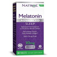 Melatonin Advanced Sleep Time Released, 10mg (60 tabs) Box
