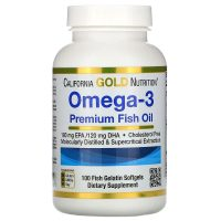 Omega-3 Premium Fish Oil (100 softgels)