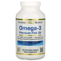 Omega-3 Premium Fish Oil (240 softgels)