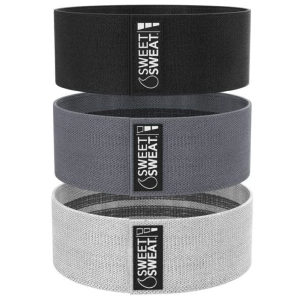 Sweet Sweat Hip Bands (3 variety pack)