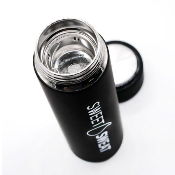 Sweet Sweat Water Bottle Black (480ml) zeefje