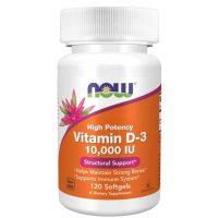 Vitamin D3 10.000IU (120 softgels)