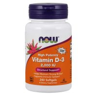 Vitamin D3 2000IU, 240 softgels