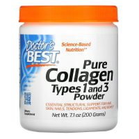 Pure Collagen Types 1 and 3, Powder (200 gram) Nutraal