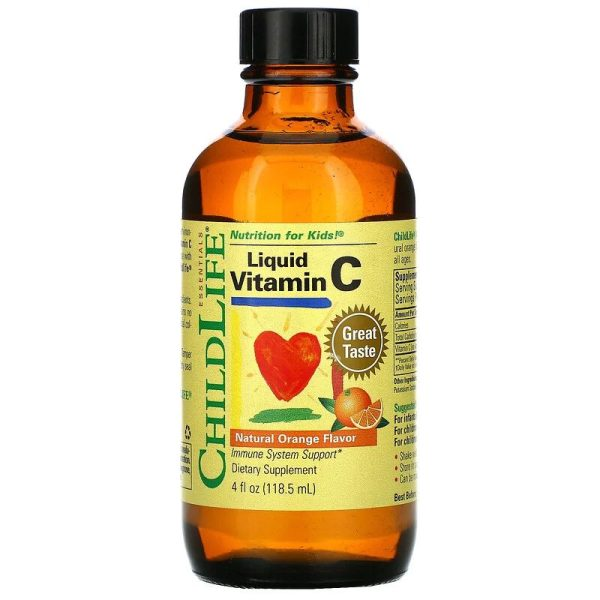 Liquid Vitamin C Natural Orange (118.5 ml)