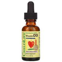 Vitamin D3 Natural Berry Flavor (30 ml)