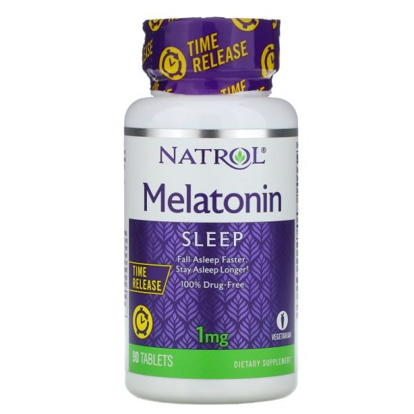 Melatonin Time Released, 1 mg (90 tabs)