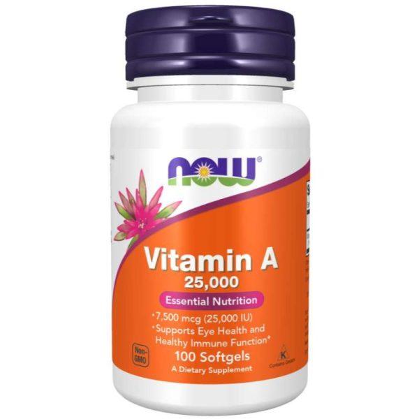 Vitamin A 25,000 (100 softgels)