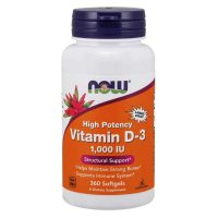 Vitamin D3 1000IU (360 softgels)