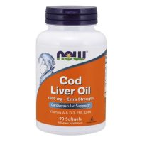 Cod Liver Oil, 1000mg Extra Strength (90 softgels)