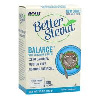 BetterStevia® Balance with Chromium & Inulin (100 Packets)