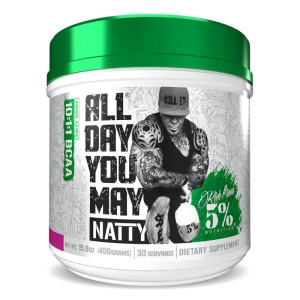 All Day You May Natty 10:1:1 BCAA (30 doseringen) Strawberry lemonade