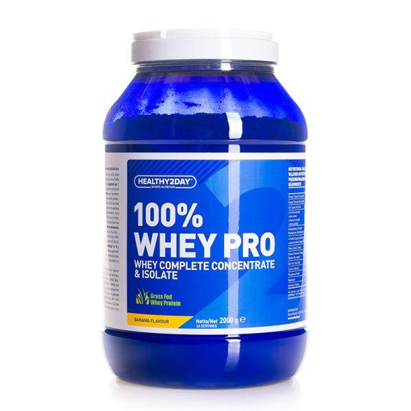 100% WHEY-PRO (2000 gram) Banana