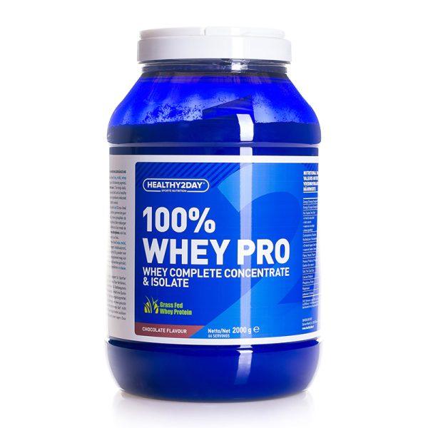 100% WHEY-PRO (2000 gram) Chocolate