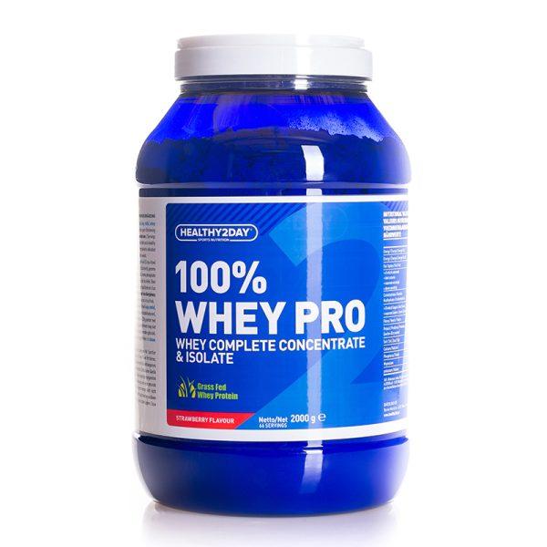 100% WHEY-PRO (2000 gram) Strawberry